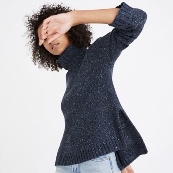b6c92690ac559 Madewell Sweaters | Flecked Turtleneck Sweater Size Xxs | Poshmark